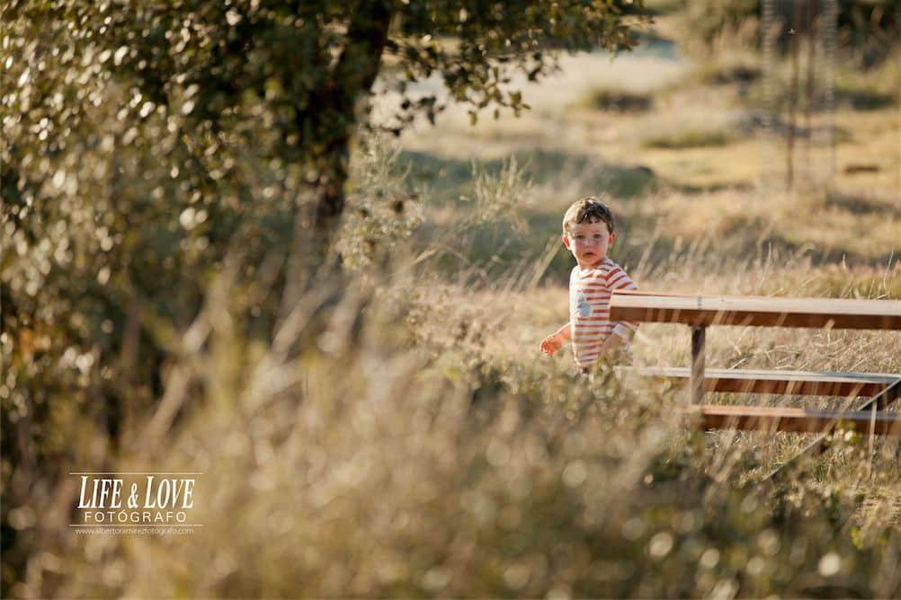 Unos niños muy simpáticos - Fotografía infantil en Toledo.