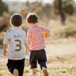Unos niños muy simpáticos - Fotografía infantil en Toledo
