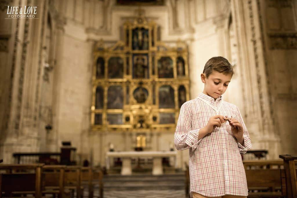 Fotos de comunión en San Juan de los Reyes