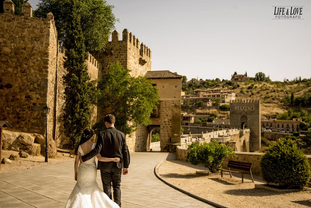 Postboda en Toledo Monumental