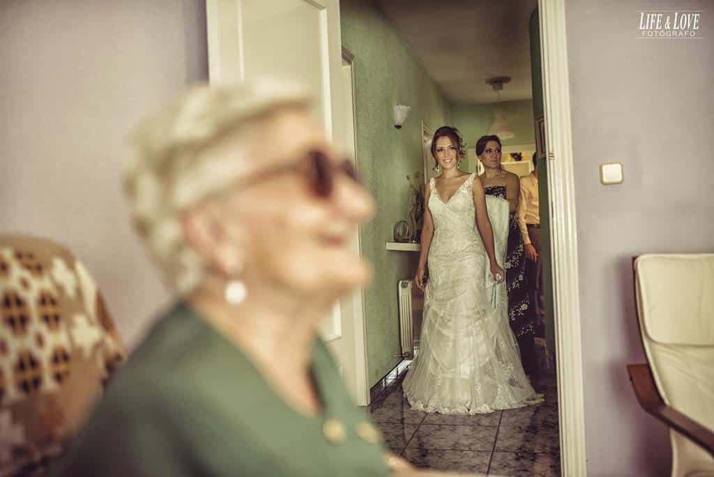 novia y abuela
