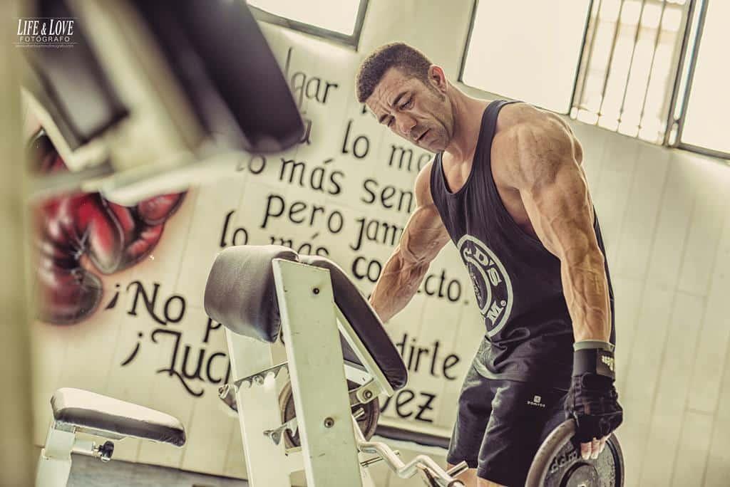 trabajando el triceps