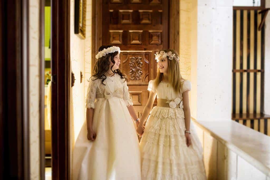 Valeria y Candela Fotos de Comunión a domicilio
