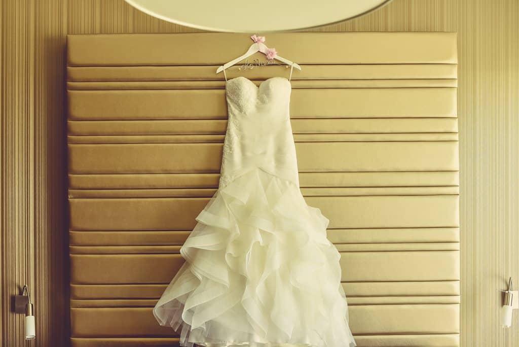 vestido novia detalle