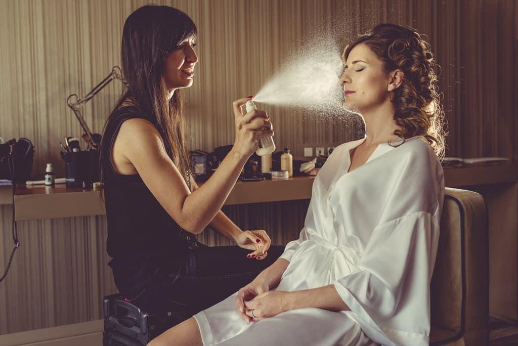 spray en maquillaje