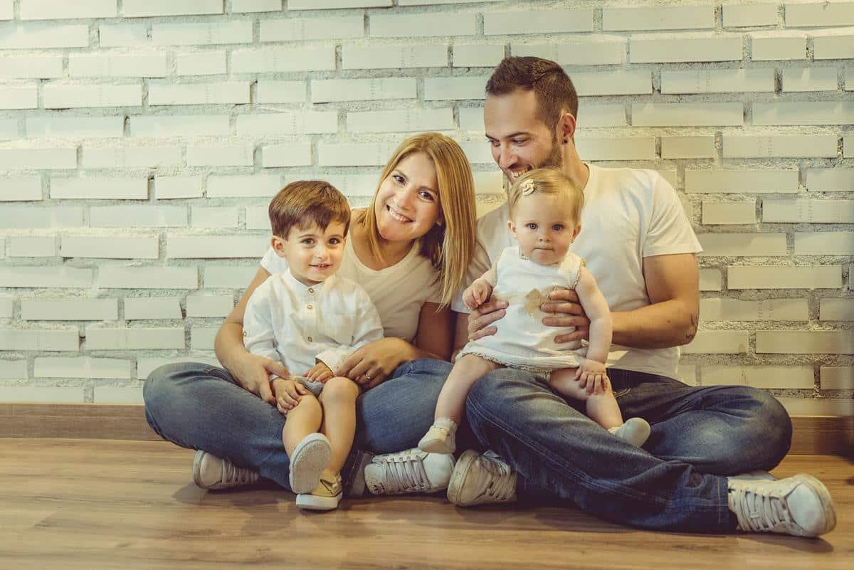 Fotos familia estudio
