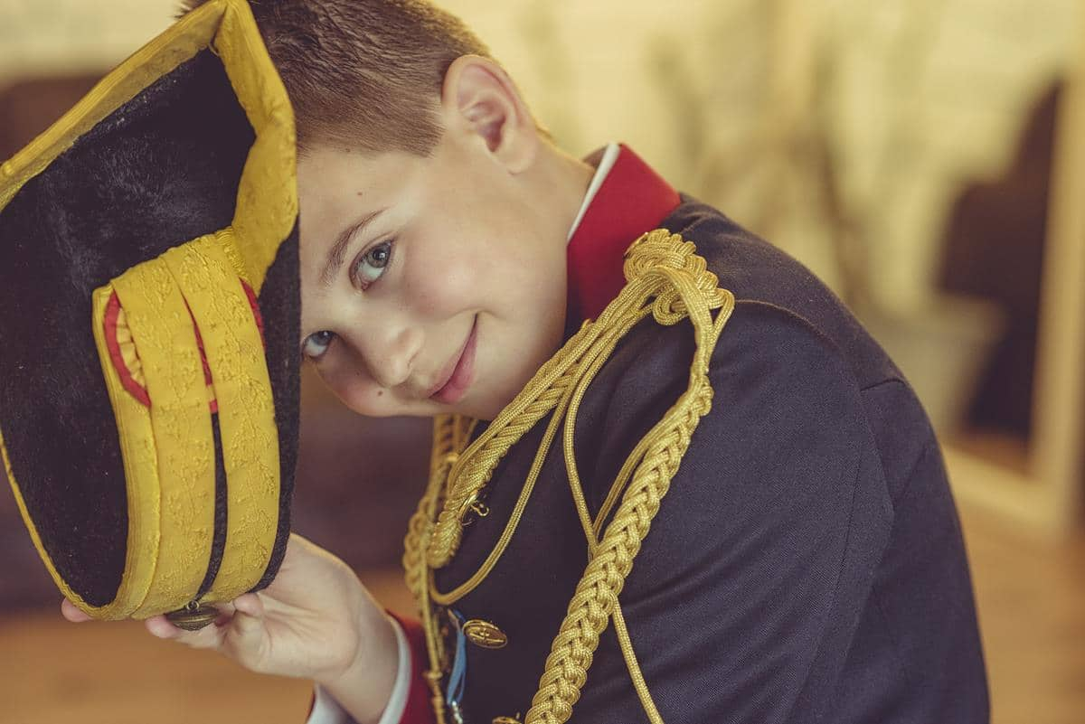Fotos Comunión niño estudio