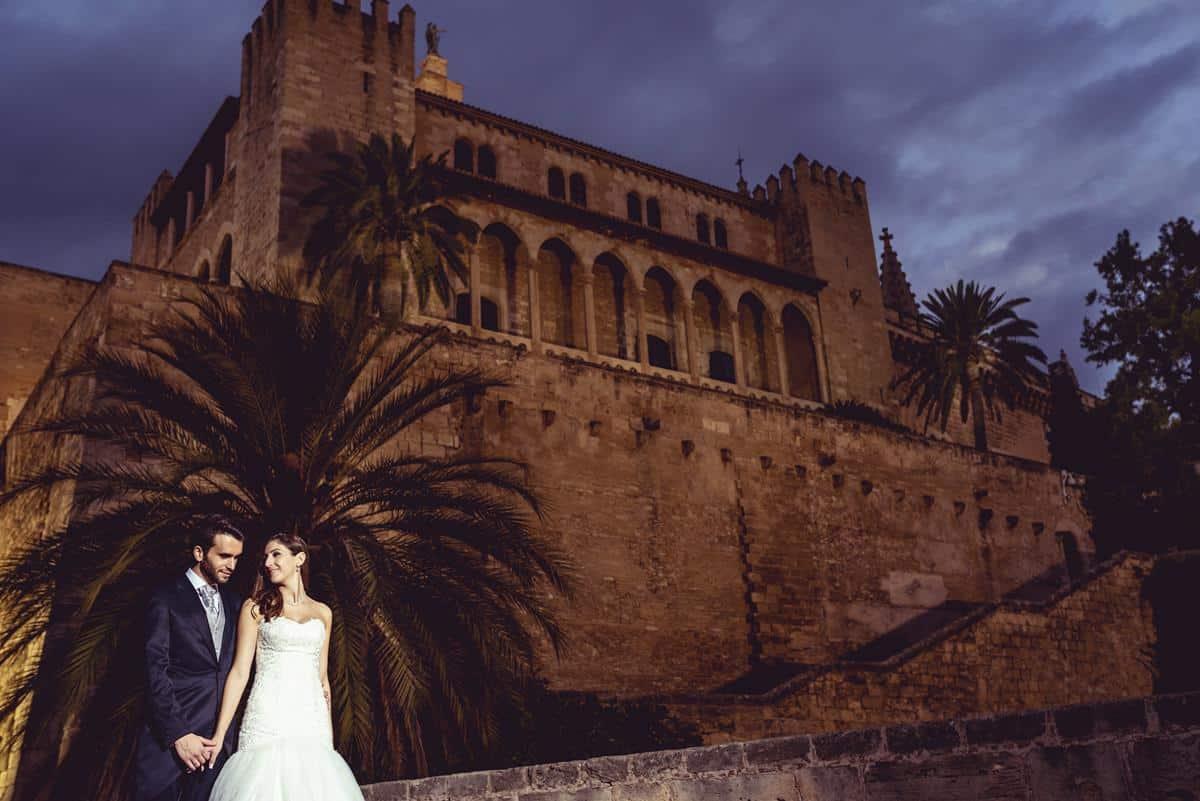 vistas de la catedral Palma
