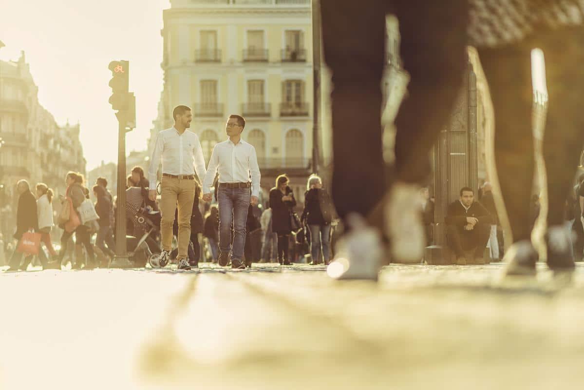 Preboda Madrid urbano