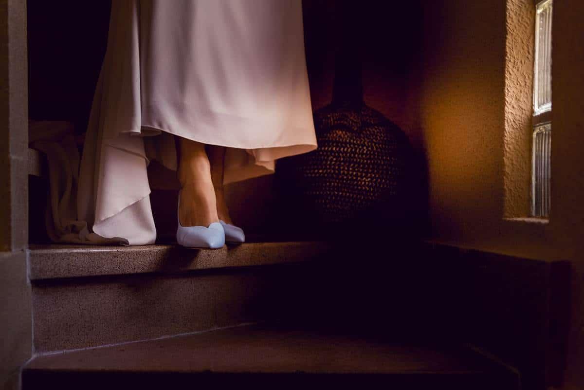 detalle zapatos novia