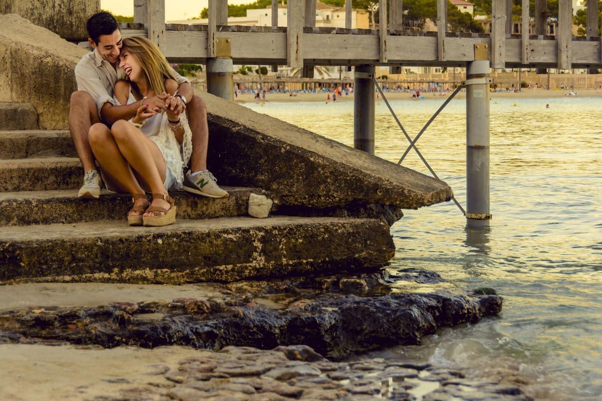 Love session Mallorca - sesión de pareja
