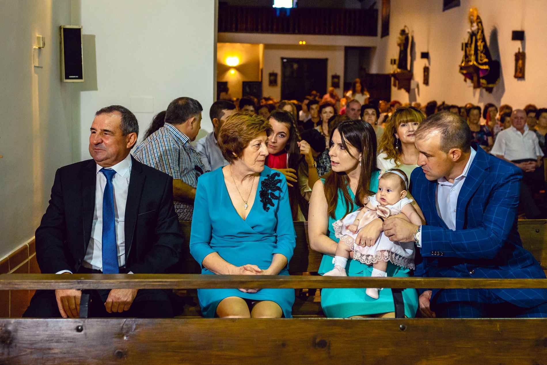 BAUTIZO con la familia
