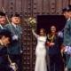 Fotógrafo de bodas Militares - pasillo sables