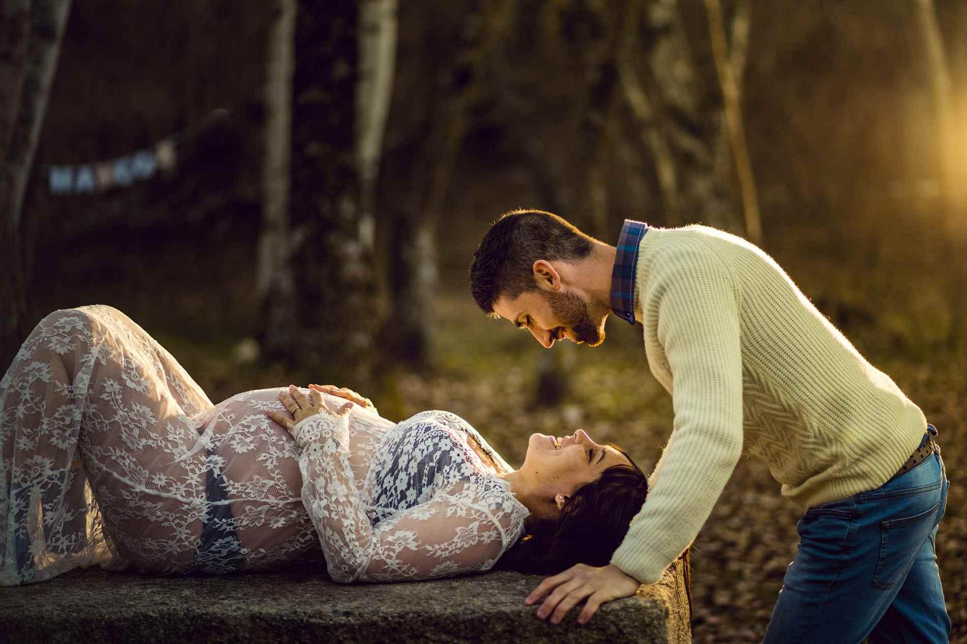 EMBARAZADA romántica