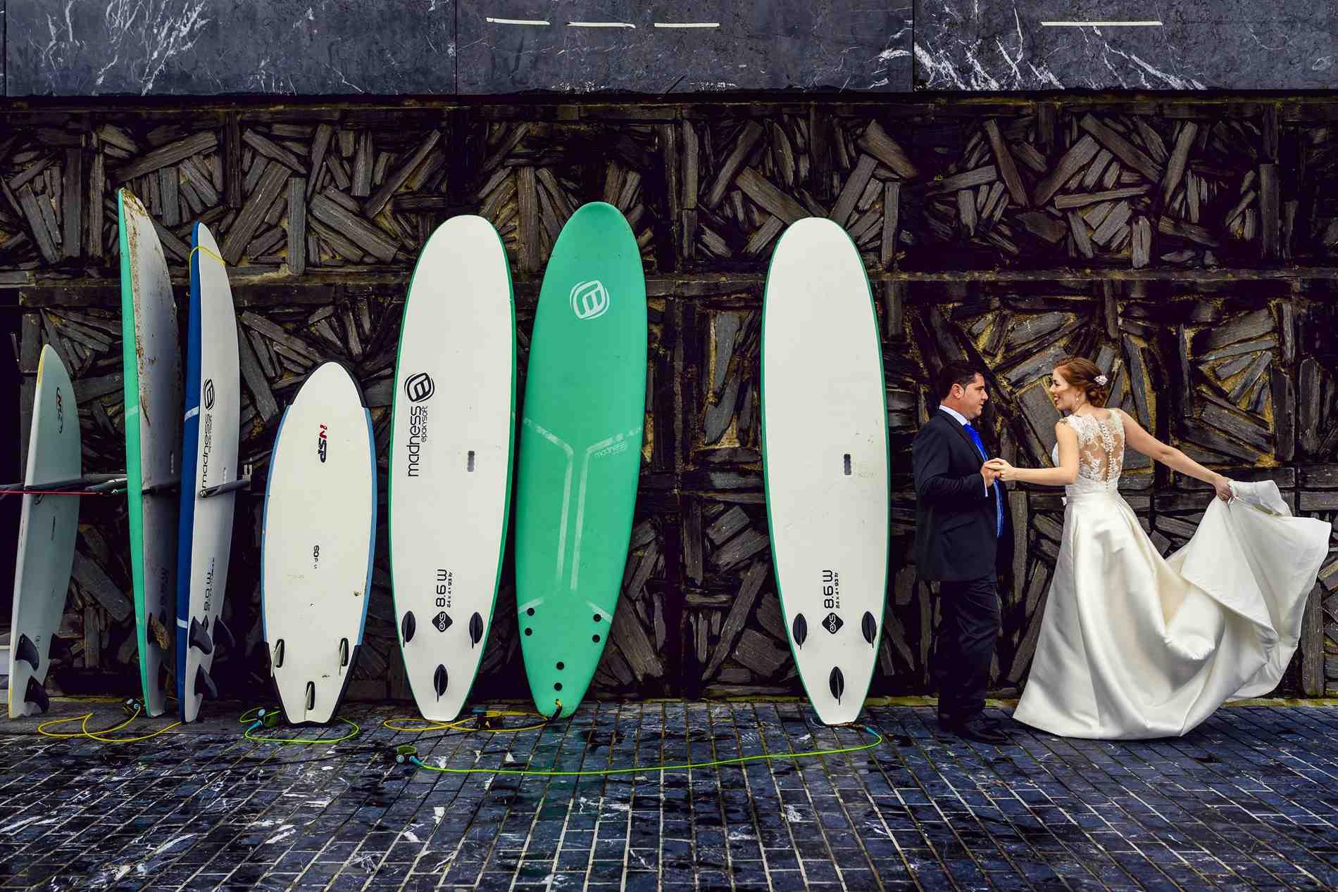 BODA TABLAS SURF SAN SEBASTIAN