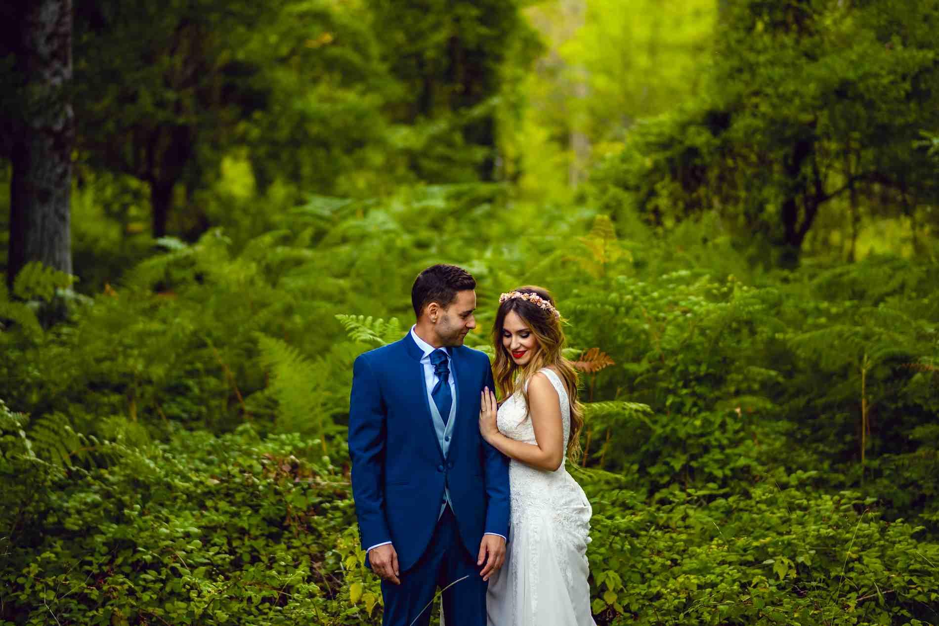 Fotógrafo de bodas en Toledo - postboda en el bosque