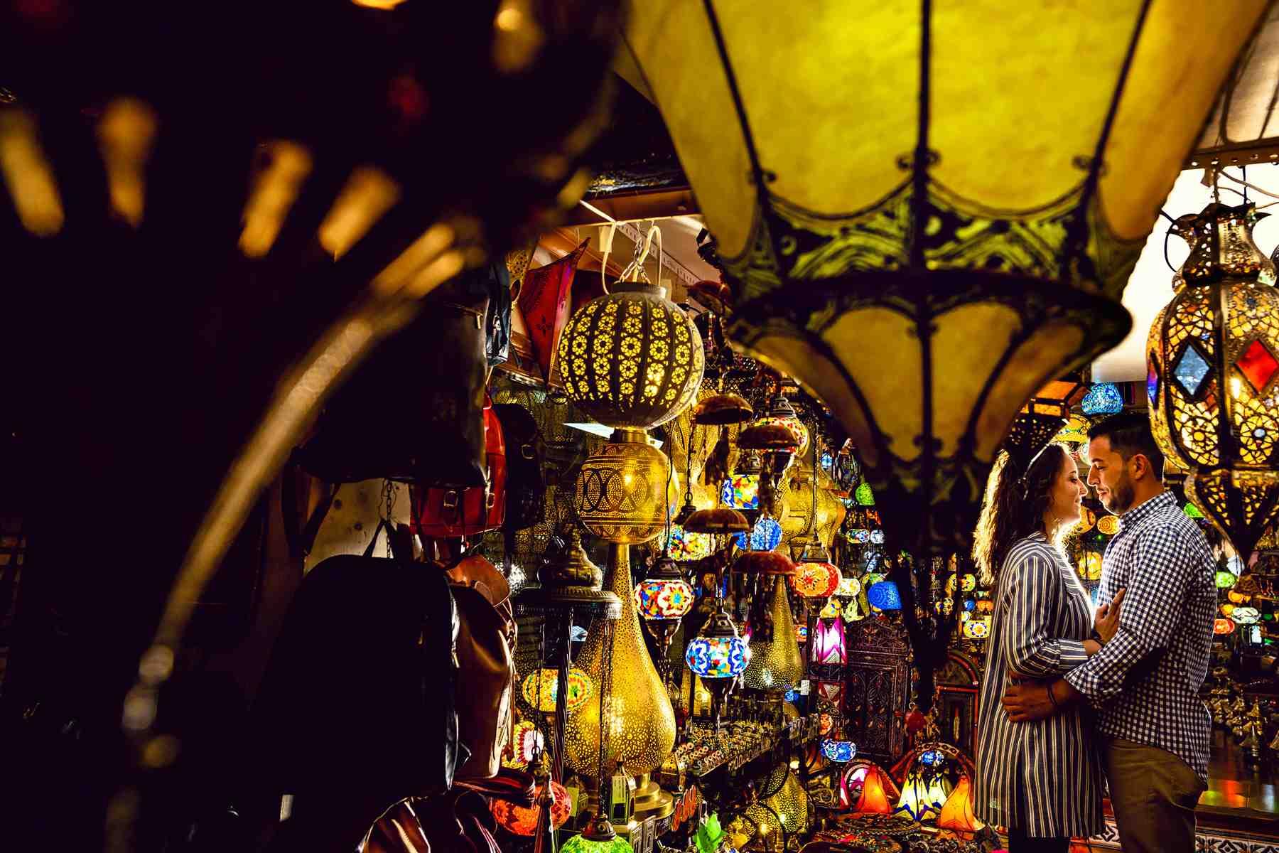 prebodas en Toledo lámparas