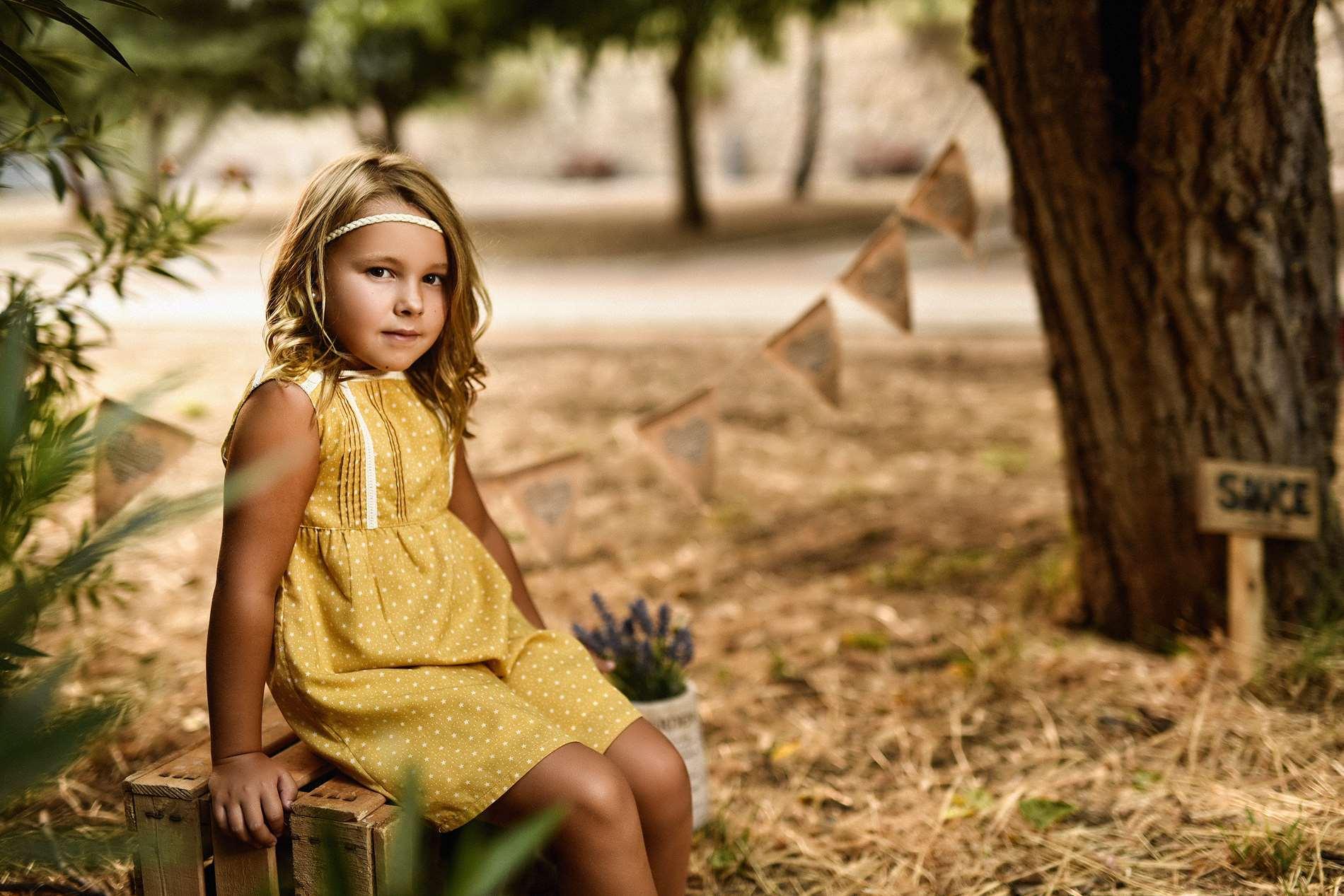 NIÑOS Y FAMILIA en el campo