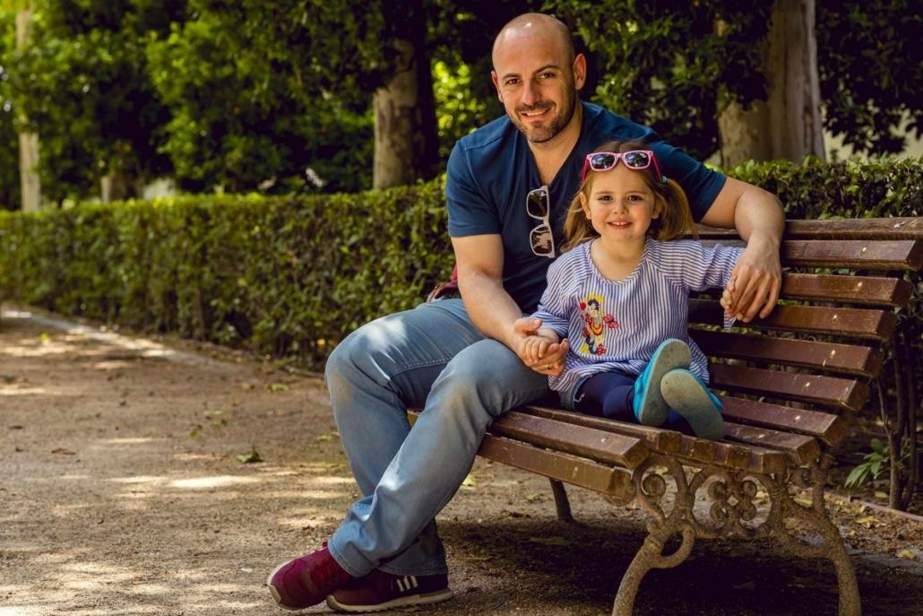 Alberto y su niña
