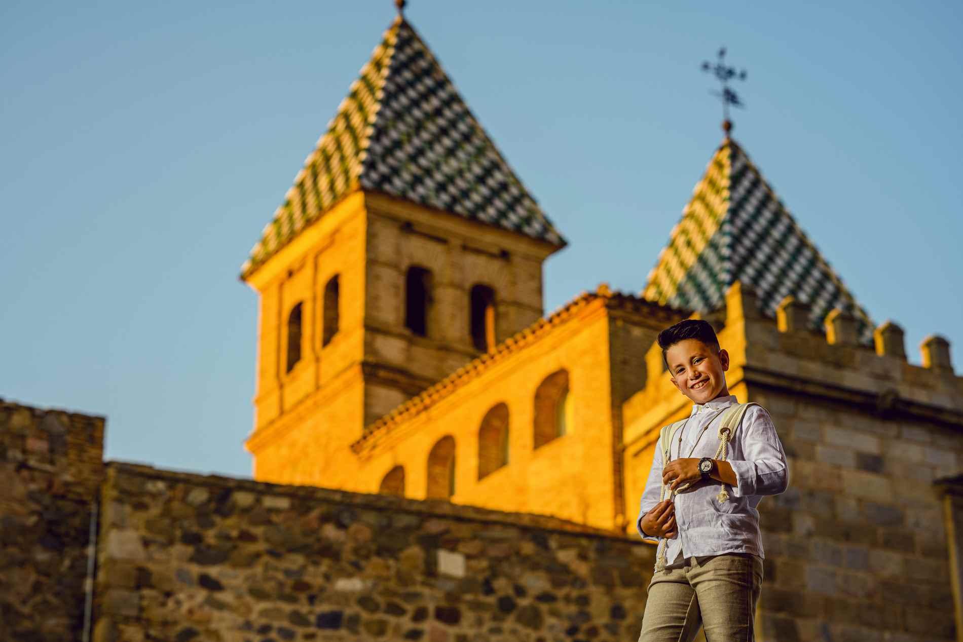 Fotógrafo de Comuniones en Toledo - Puerta Bisagra