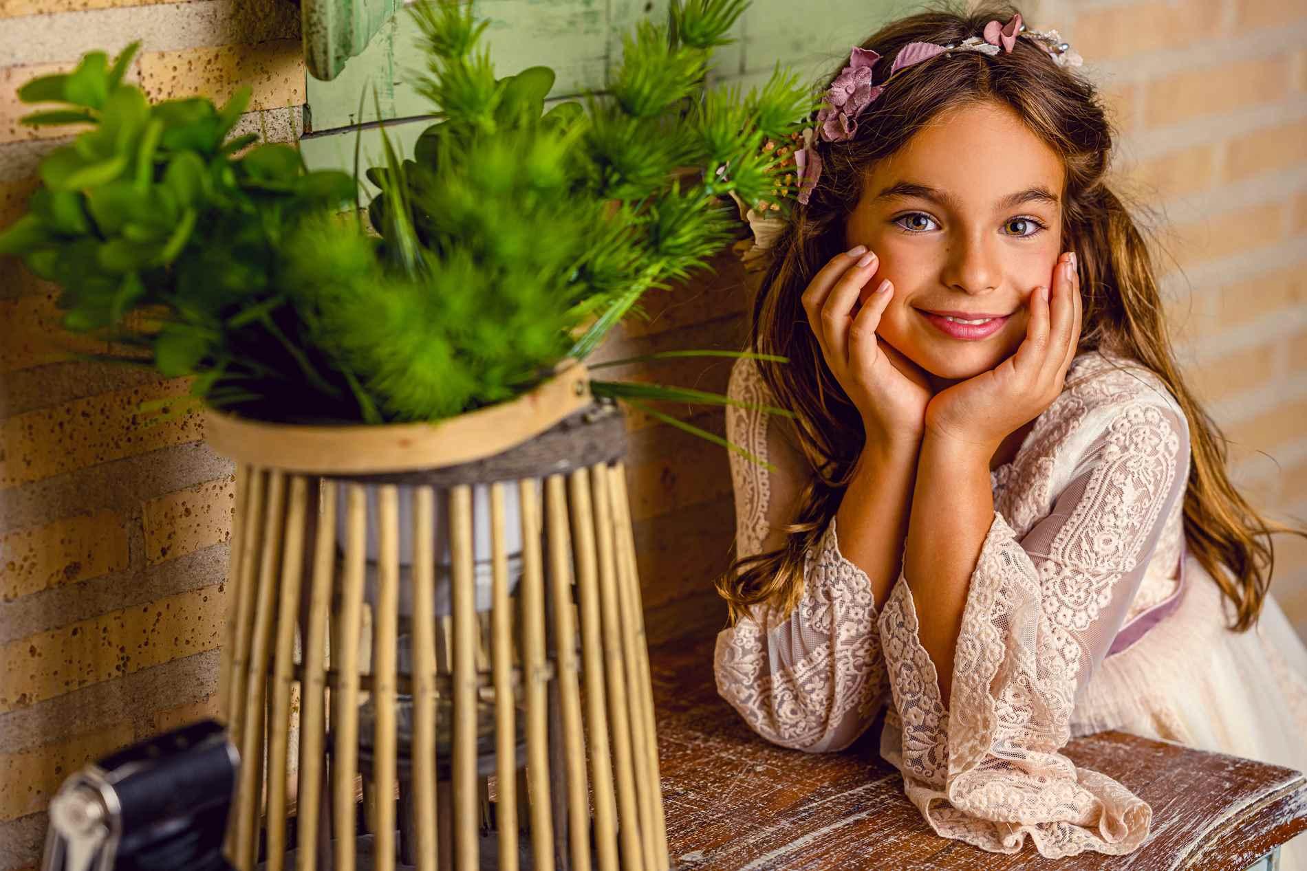 Fotógrafo de Comuniones en Toledo - niña comunión