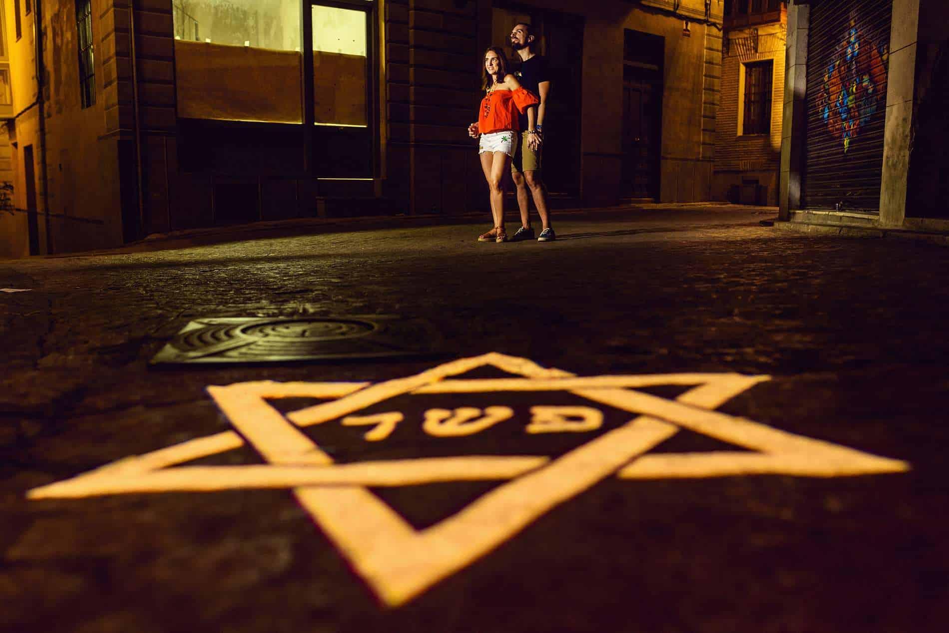 sesión de pareja en Toledo