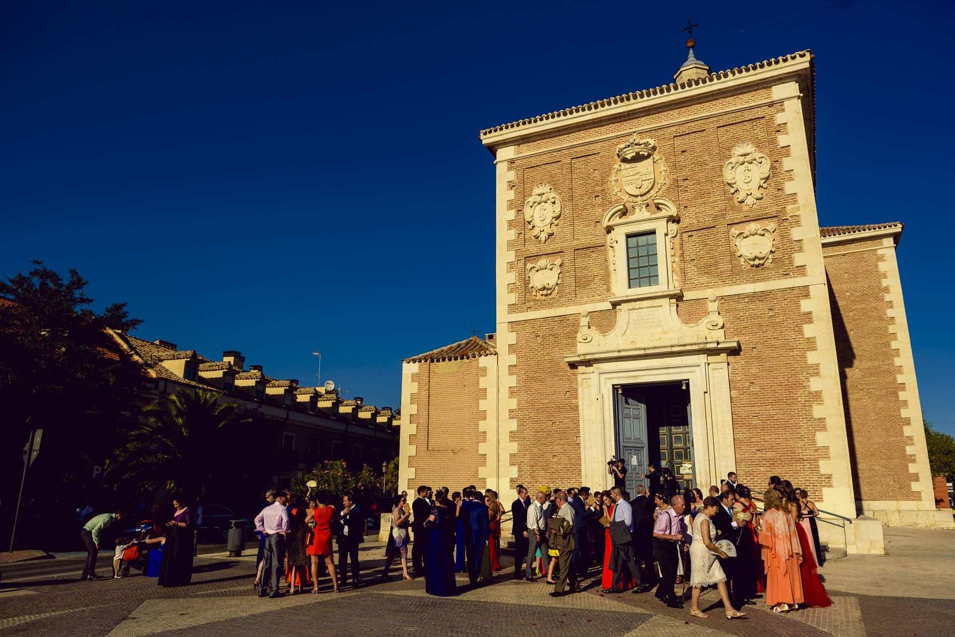 Boda en Aranjuez - Parroquia Nuestra Señora de las Angustias