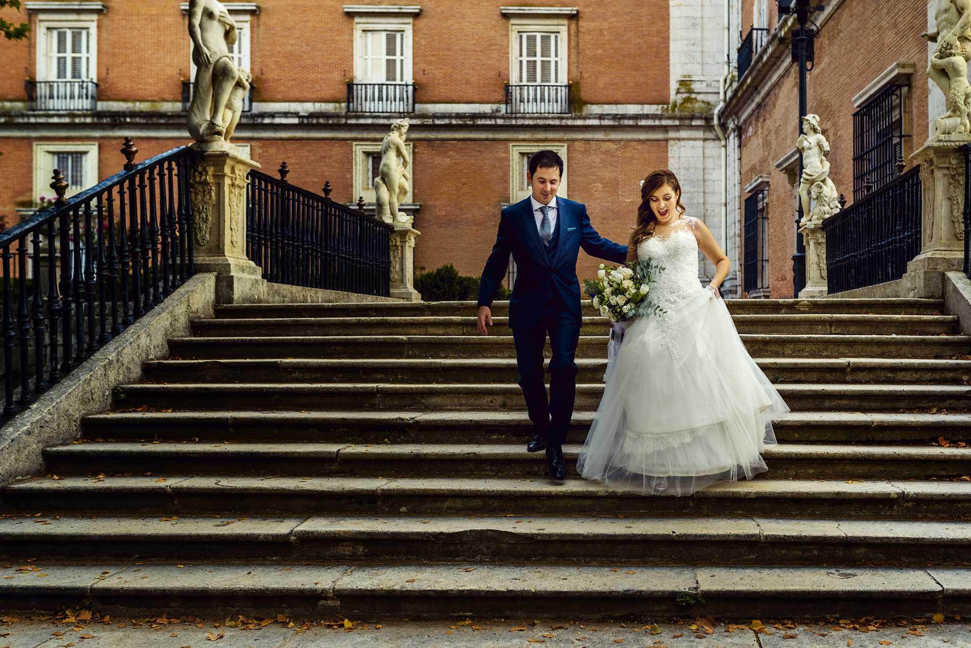 fotógrafo de bodas en Aranjuez - Jardines de la Isla