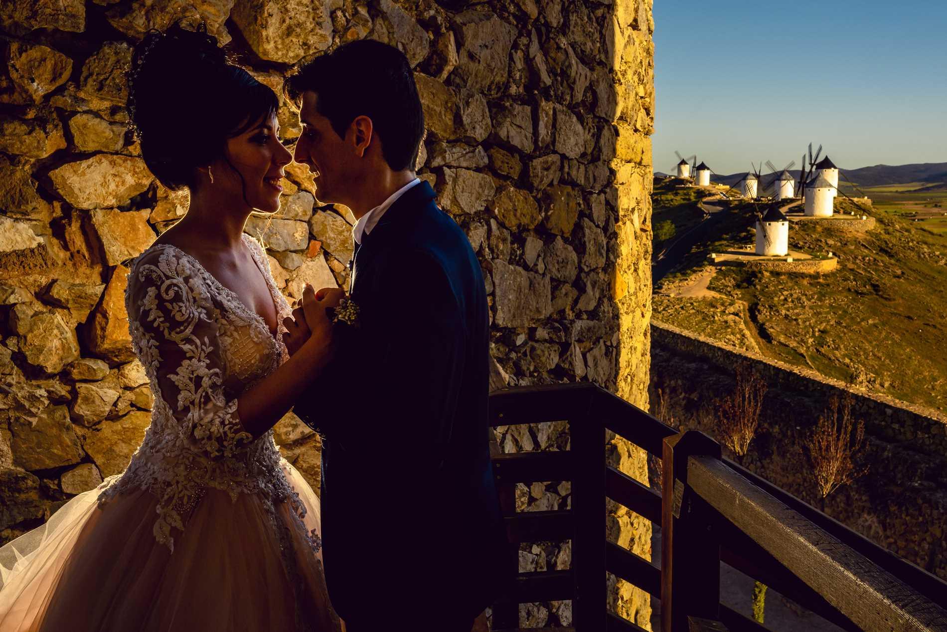 Fotos bodas los Molinos de Consuegra