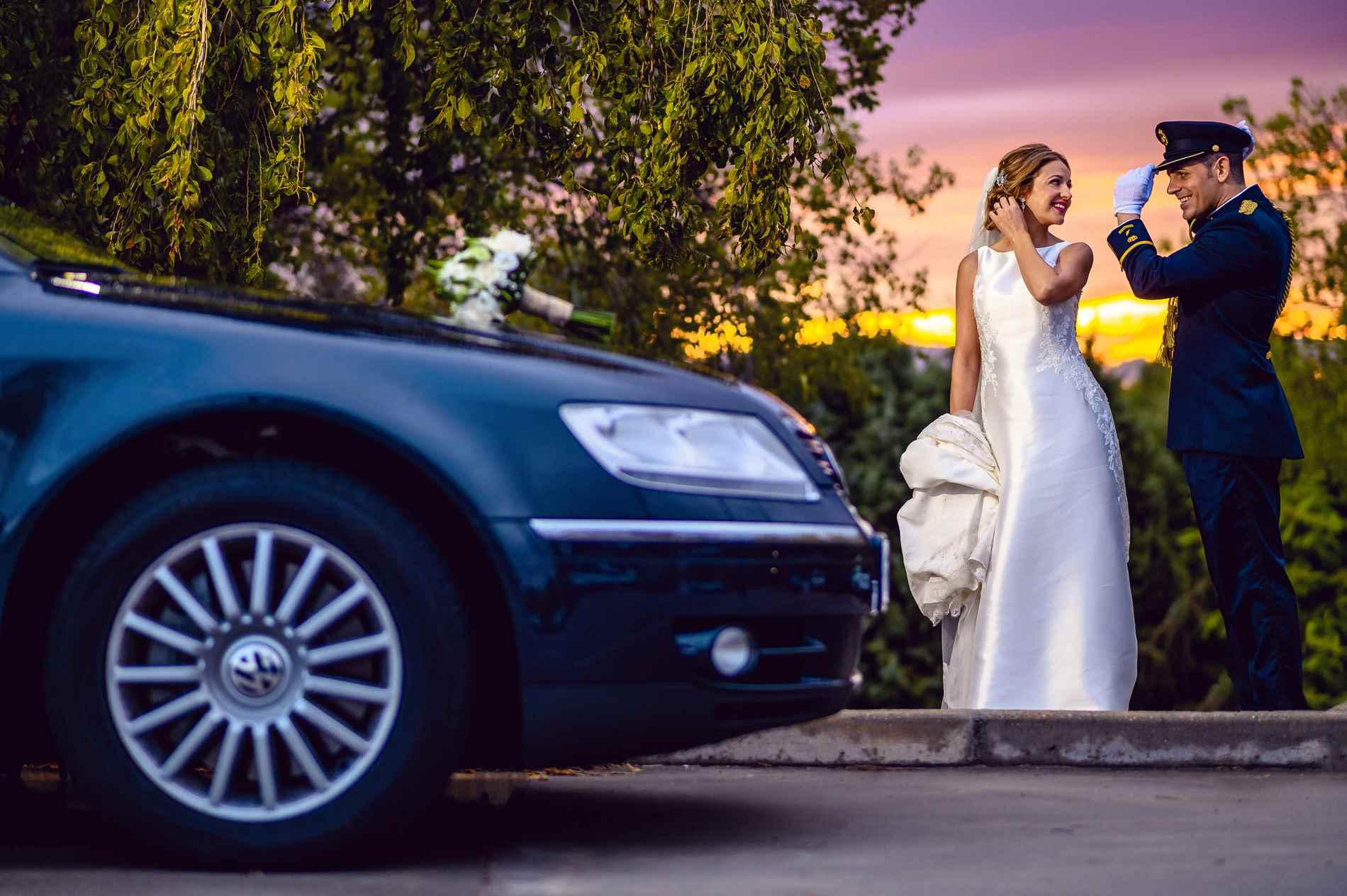 Fotógrafo de bodas Militares