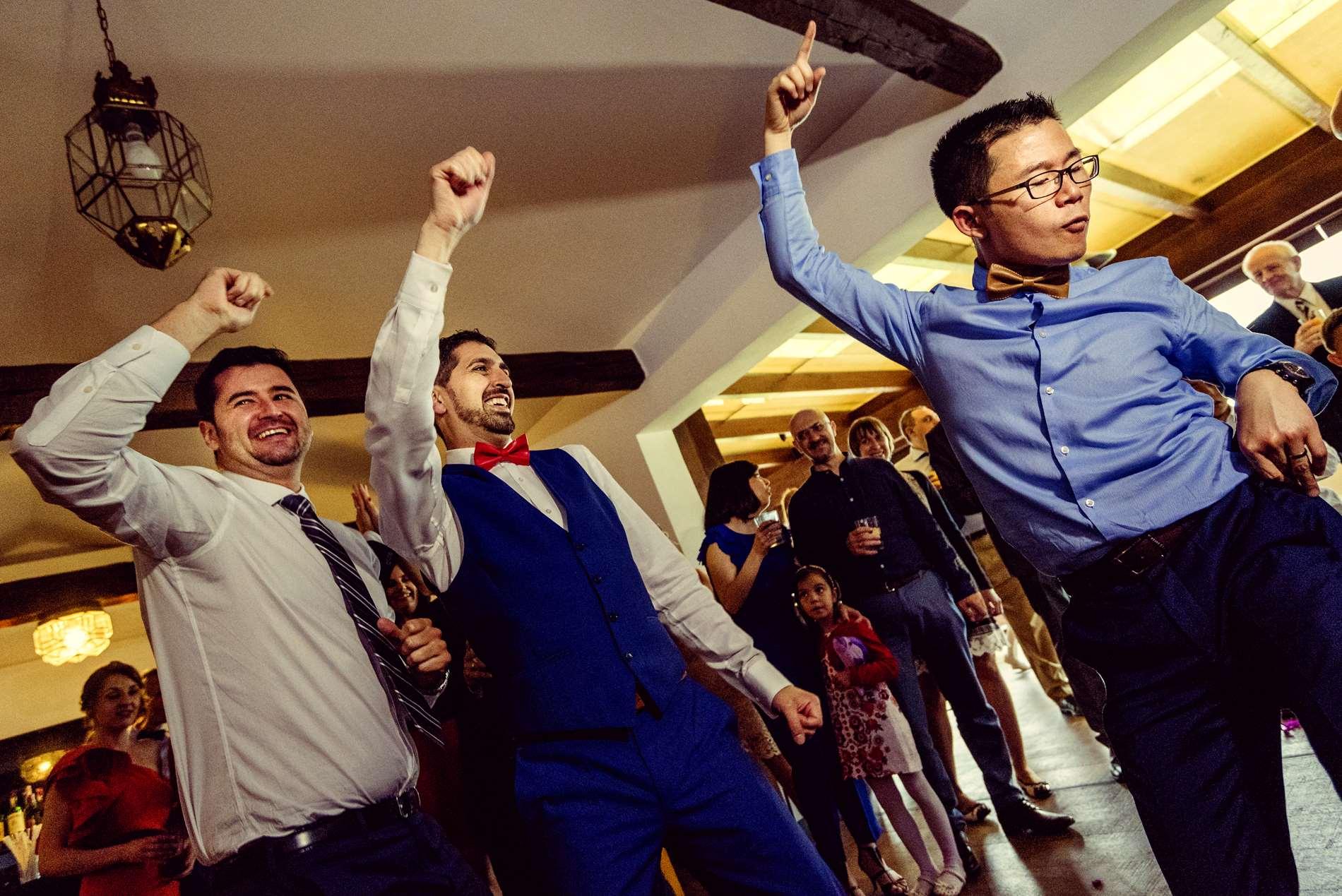 Fiesta en la boda china