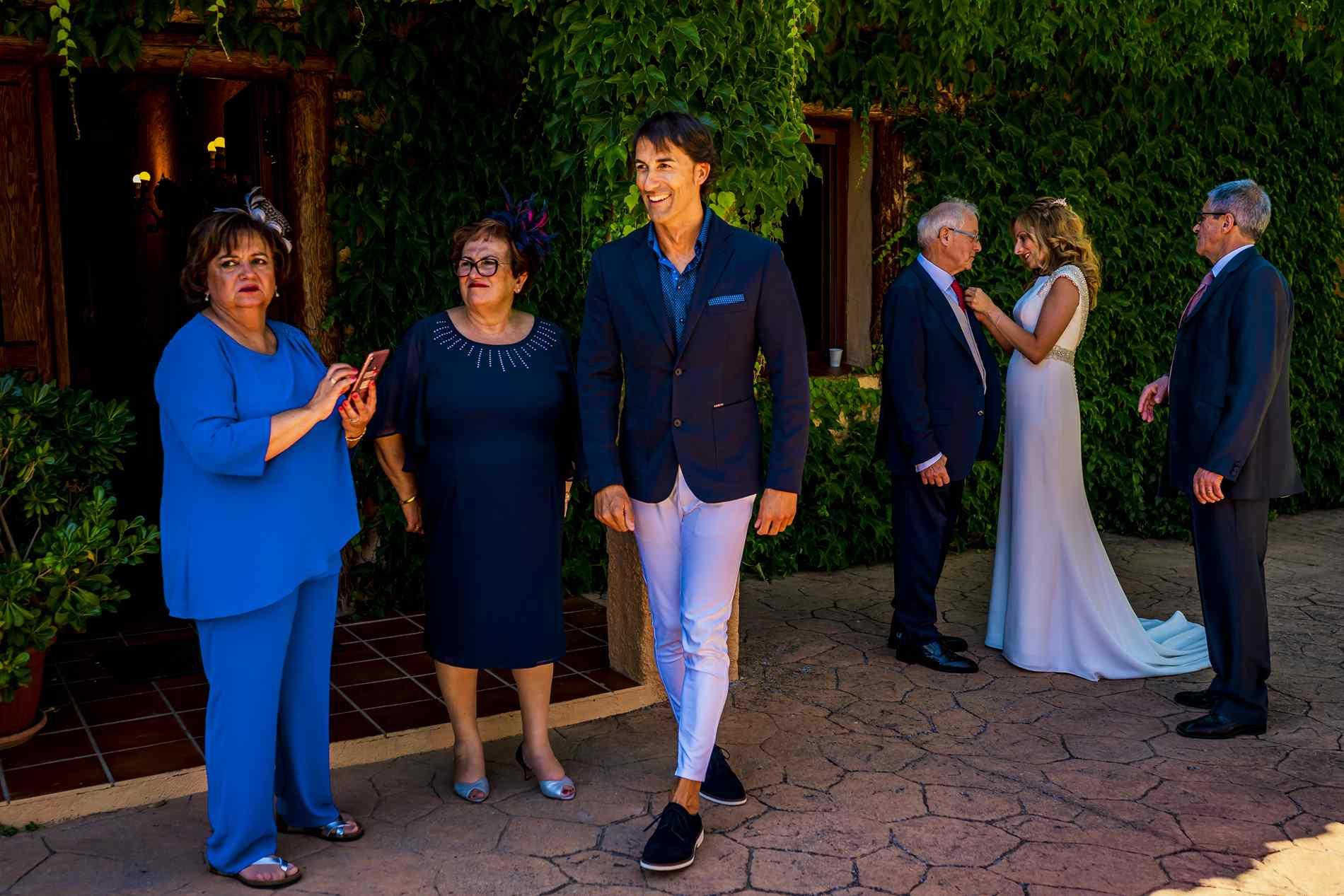 preparativos familiares boda