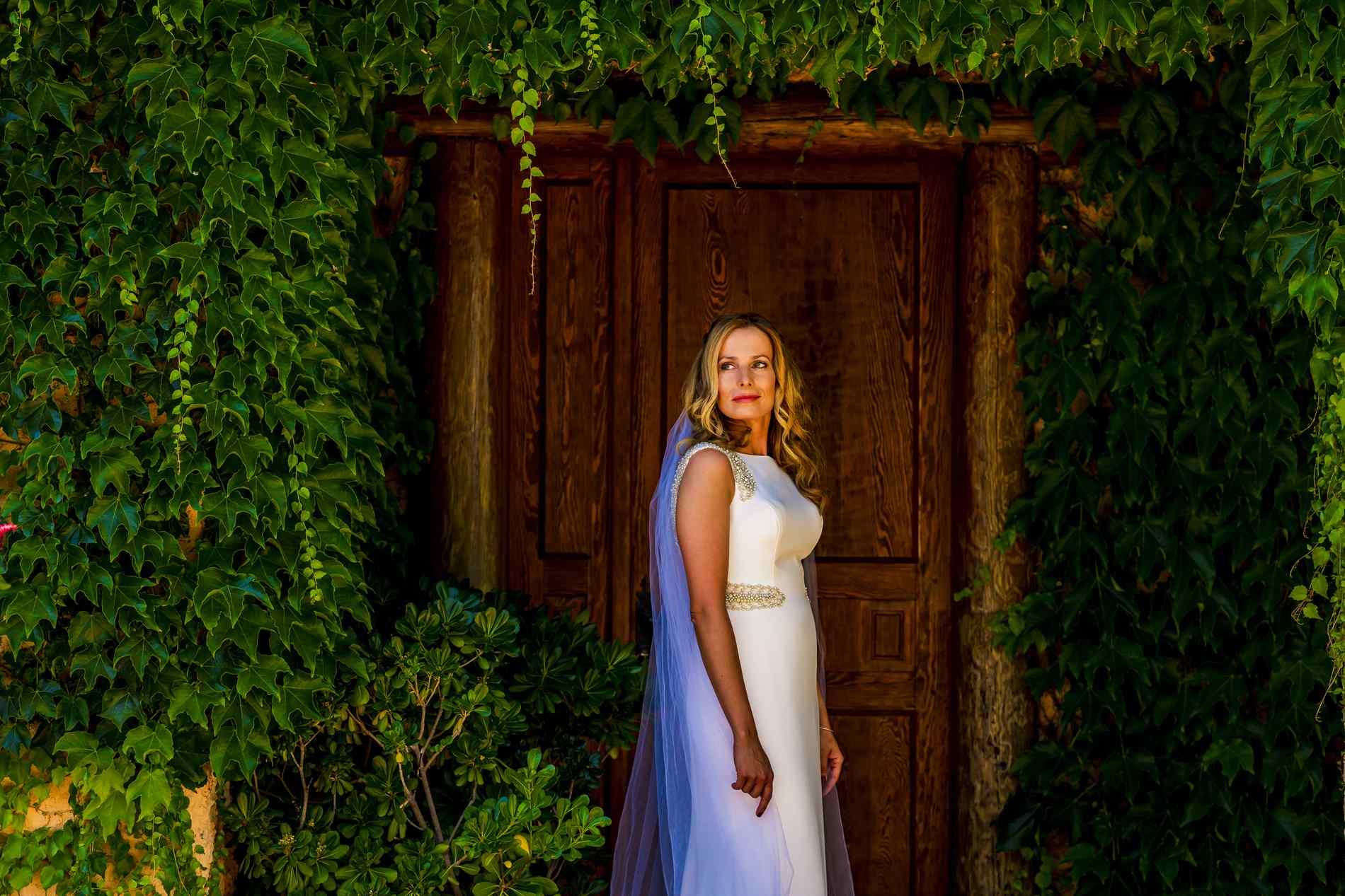 novia elegante