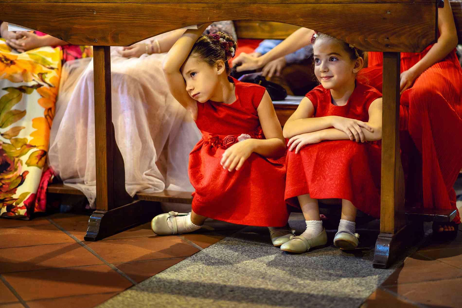 boda iglesia niñas