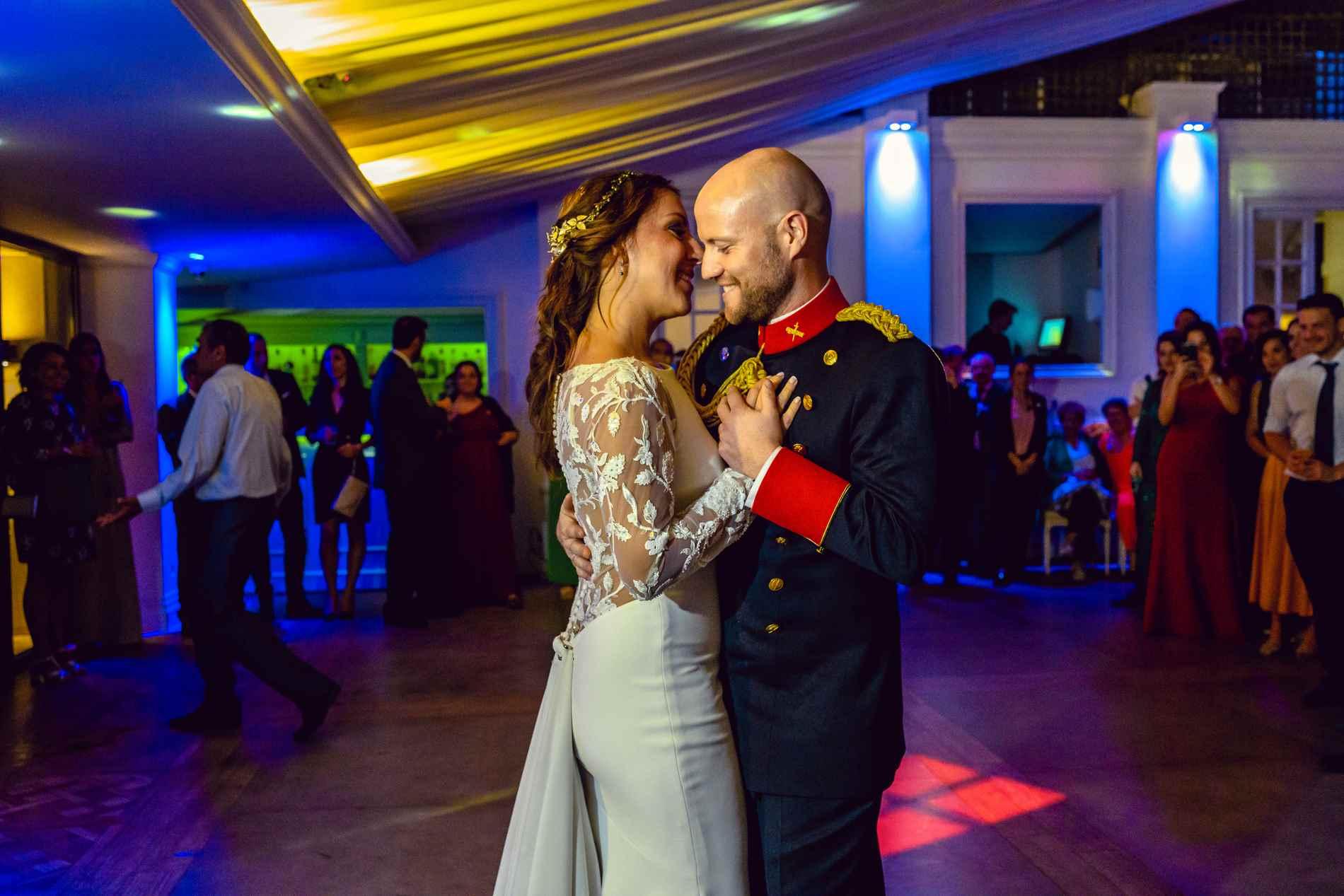 Primer baile - Fotógrafo de bodas Militares