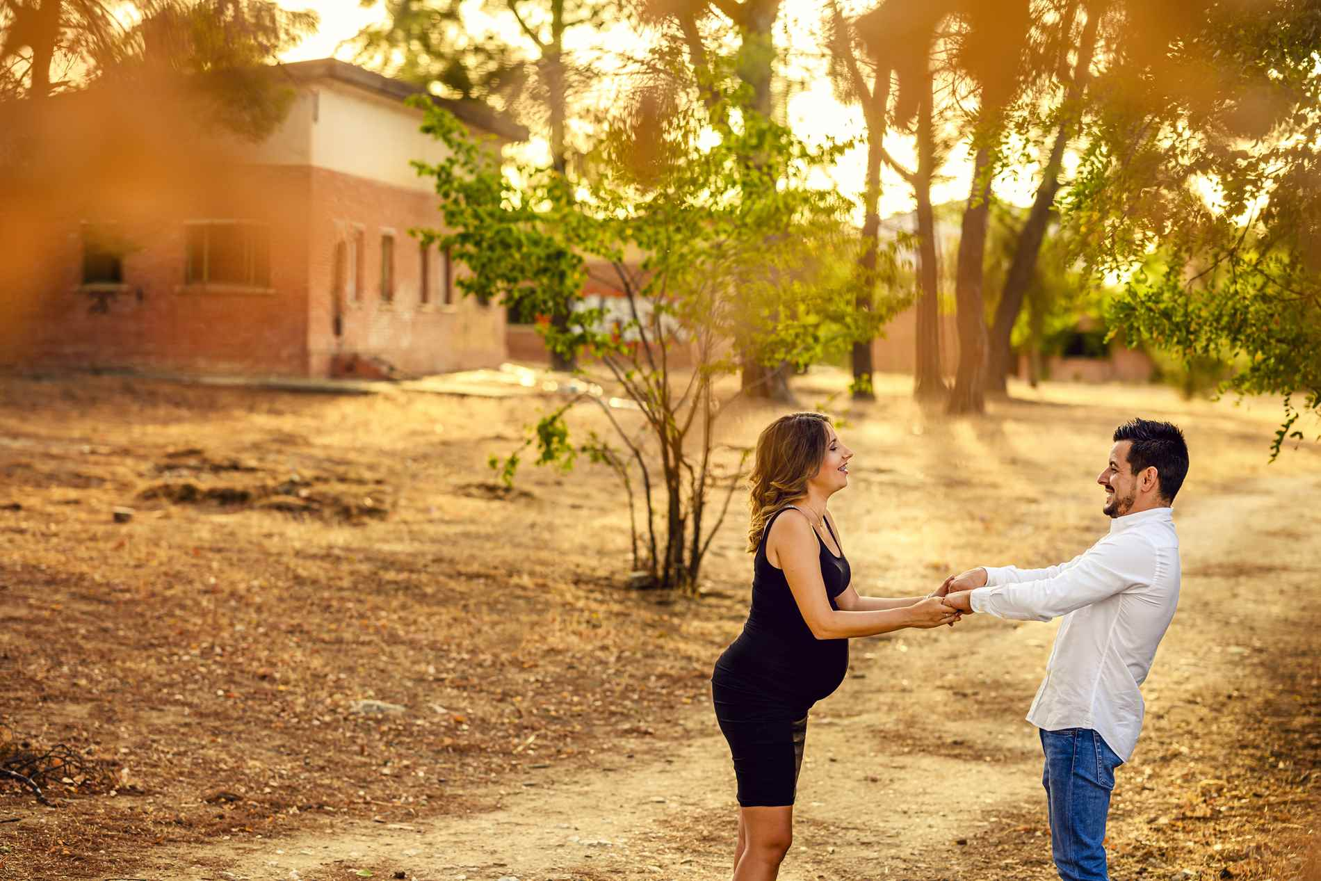sesion de fotos embarazo en pareja - Sesión de fotos para embarazadas - Fotografía premamá