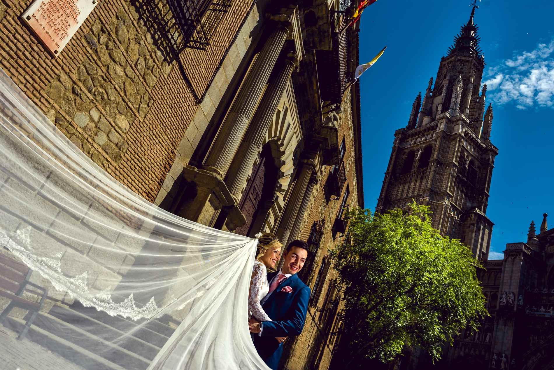 foto postboda en Toledo - La Catedral de Toledo