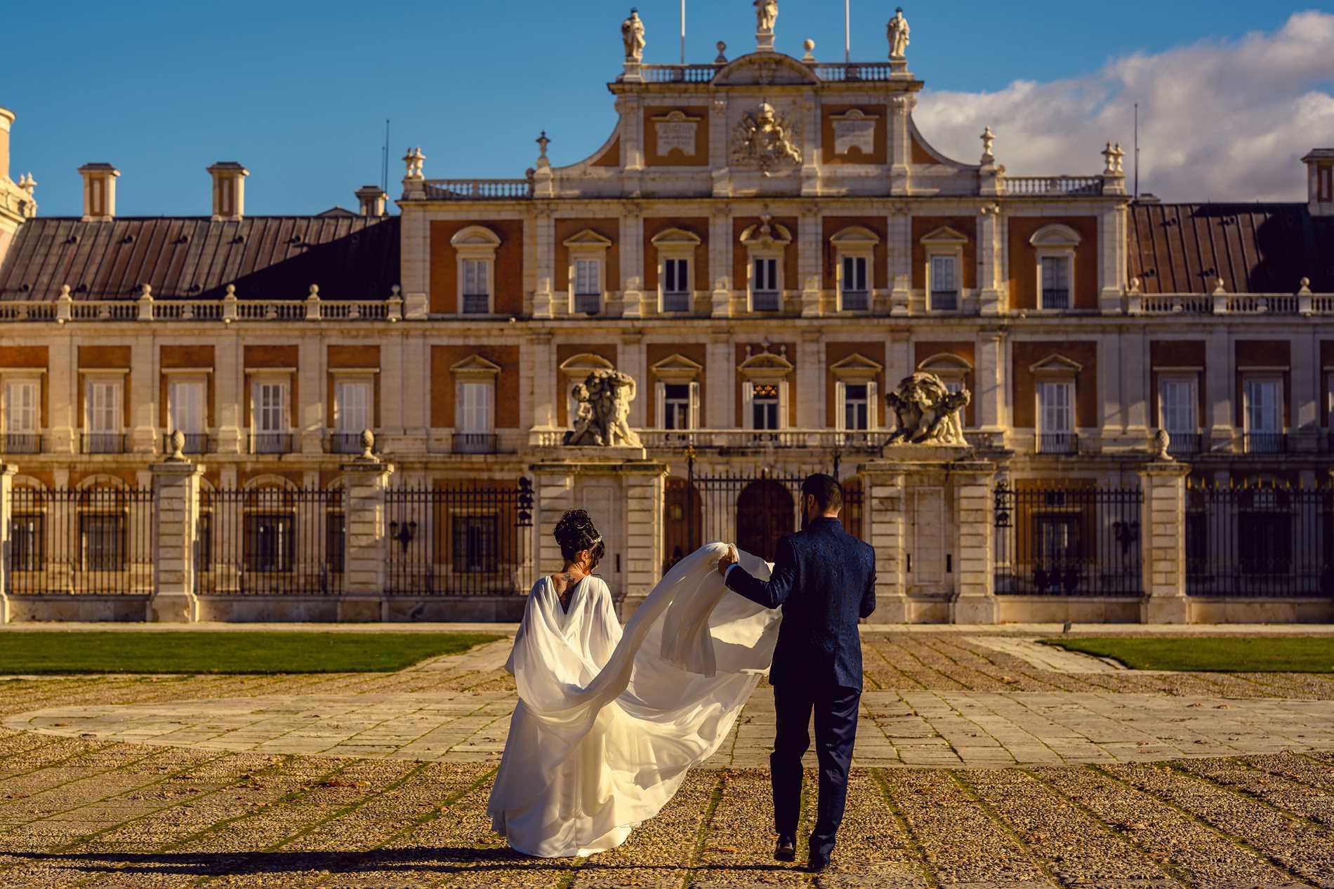 fotógrafo de bodas en Aranjuez - Palacio Real