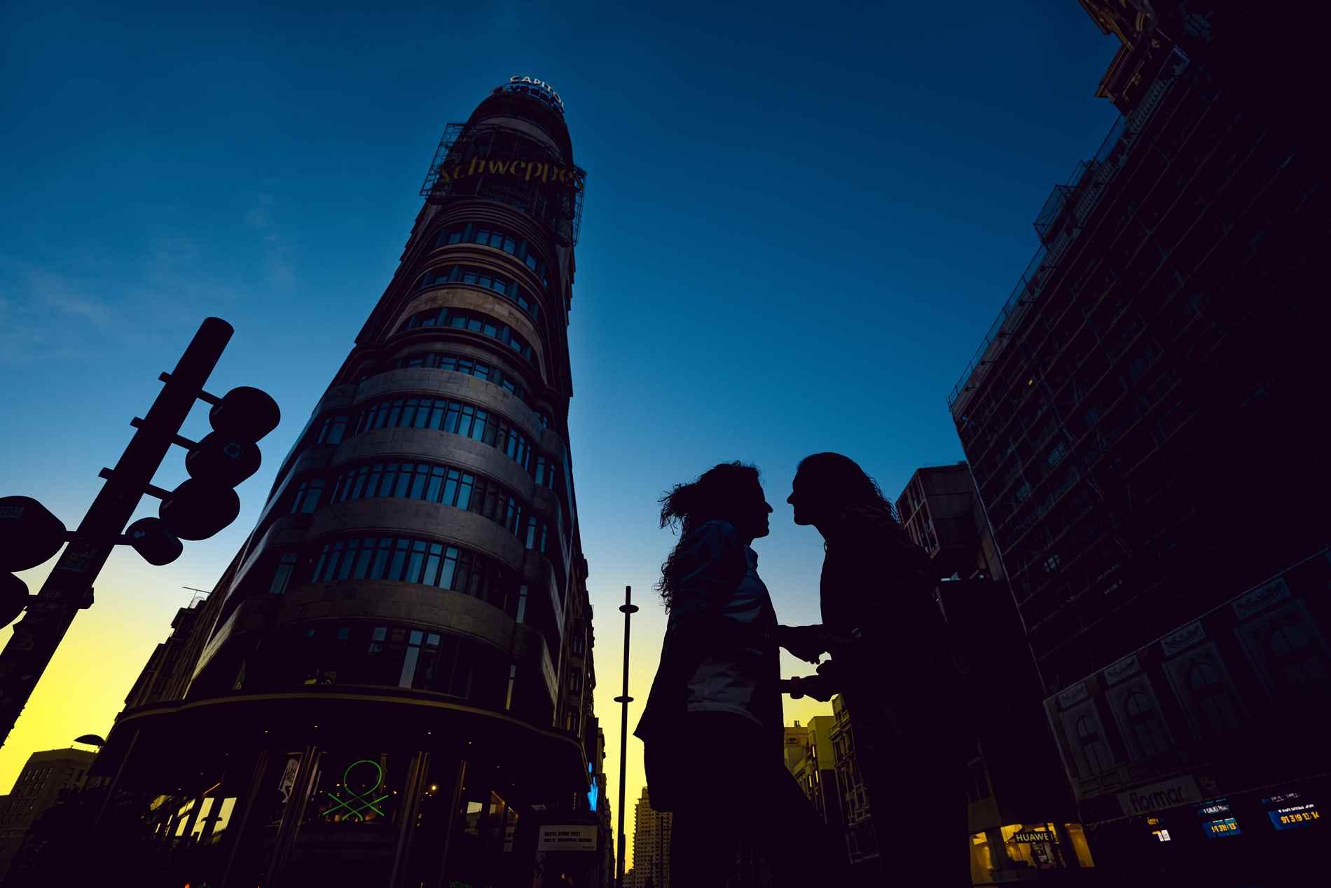 La torre Schweppes de Madrid