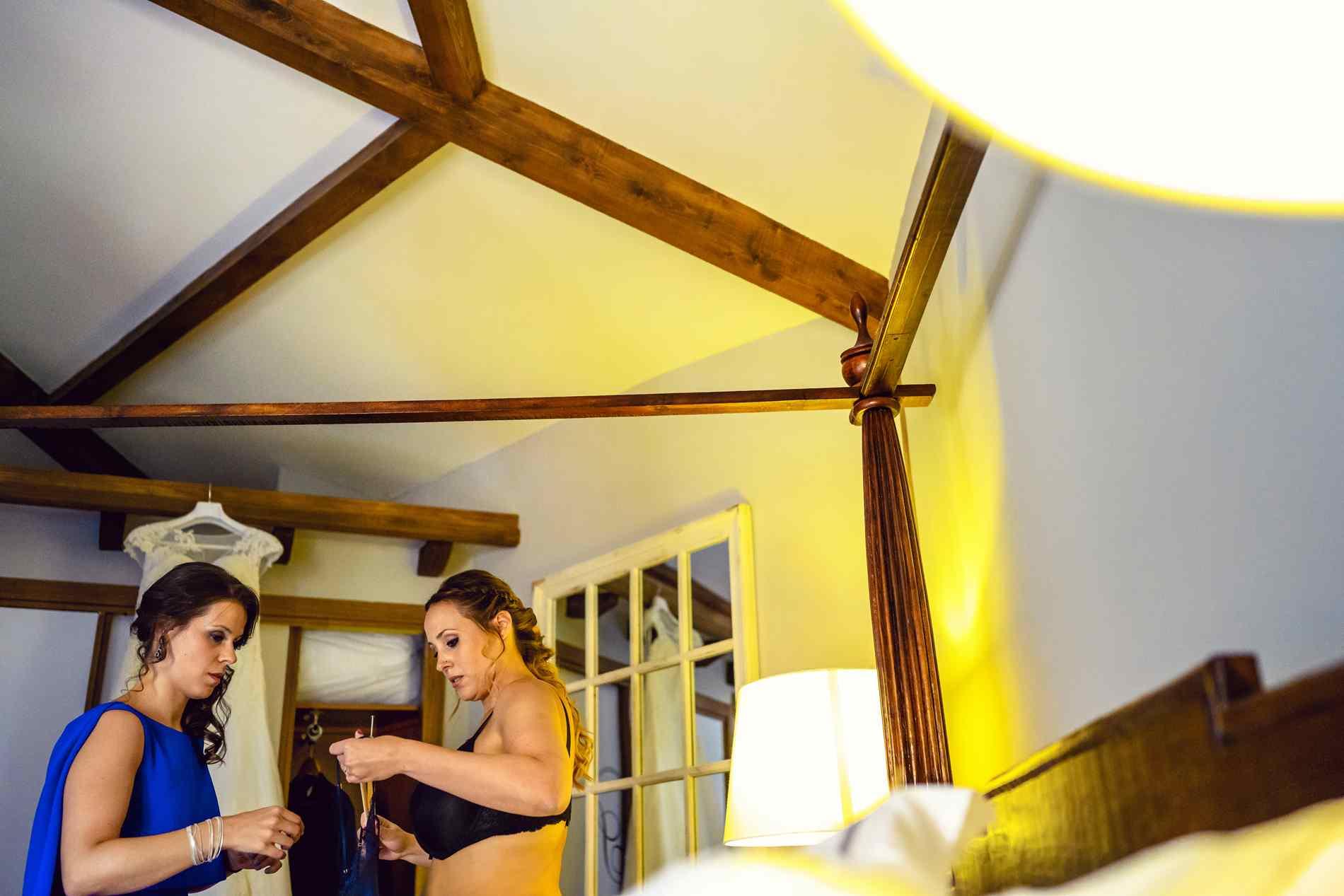 preparativos novia hotel extremadura