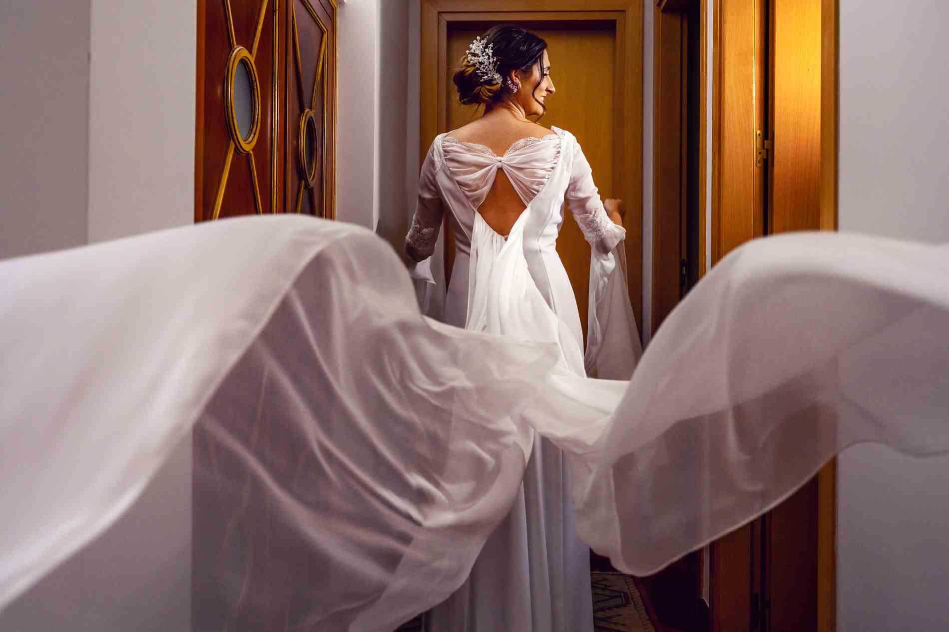 preparativos de la novia en Madrid