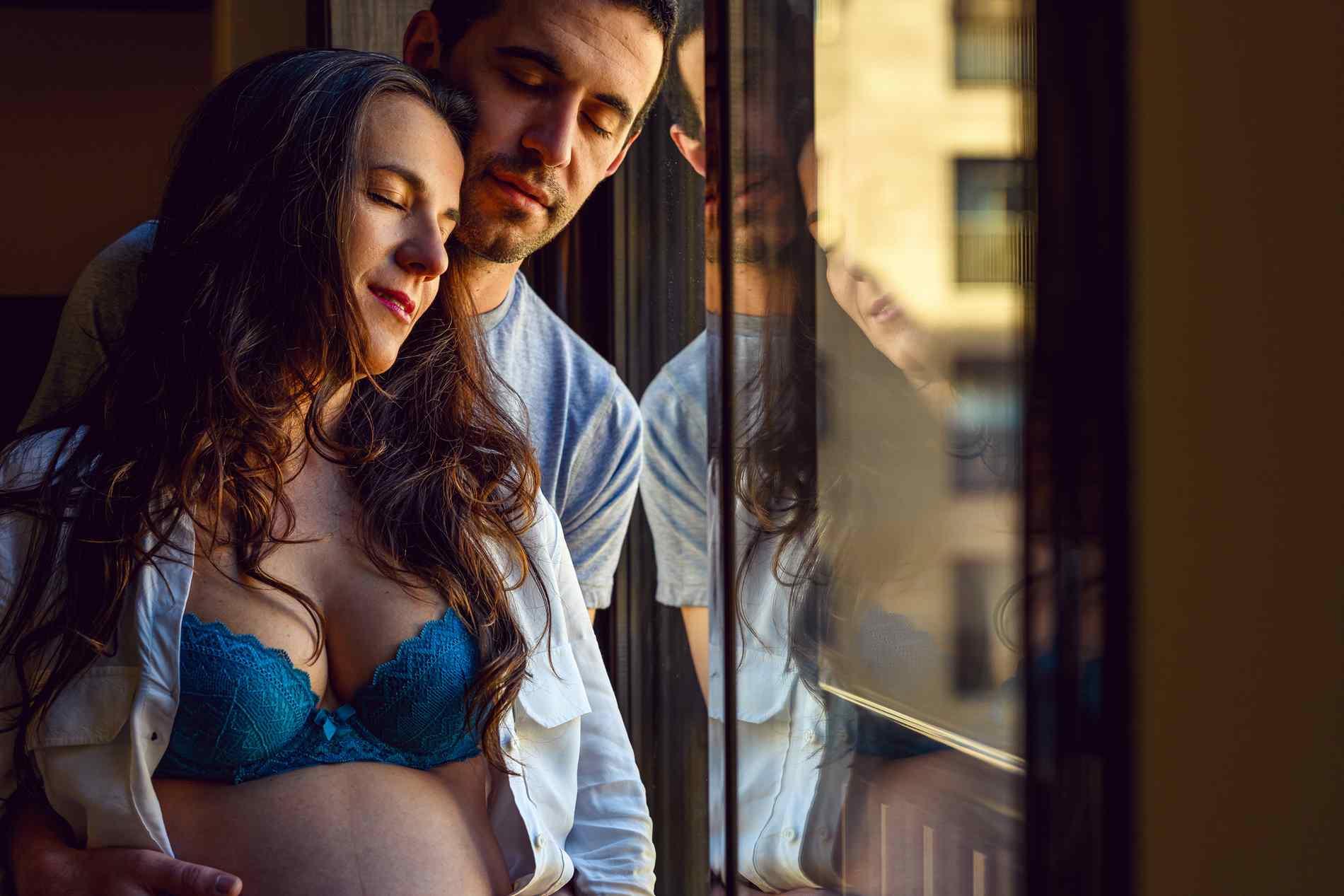 Fotos premama y maternidad a domicilio