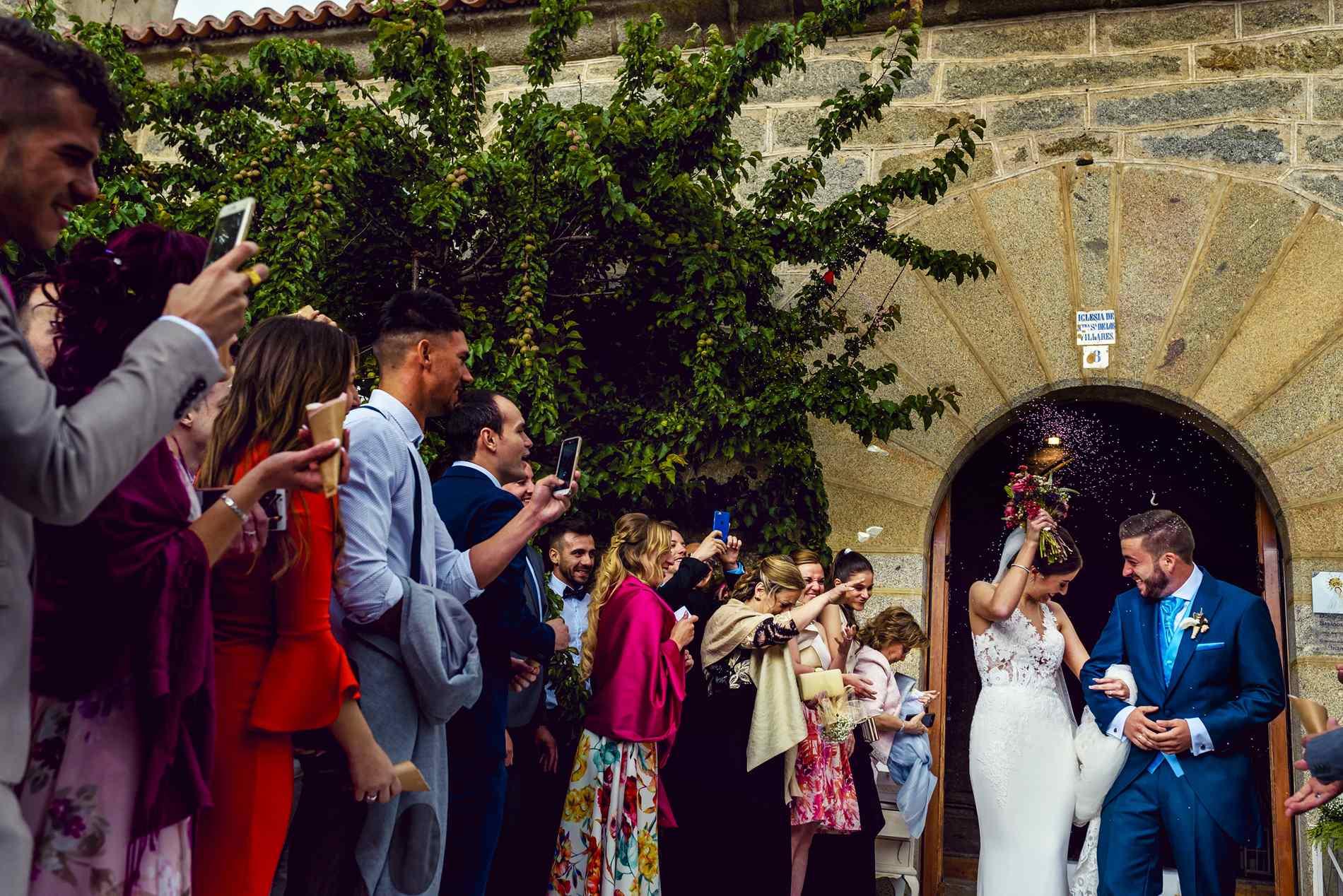 Boda en la Iglesia de Navaluenga - Nuestra Señora de los Villares